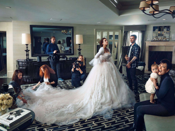 Kim Kardashian S Wedding Dress Designers Revealed