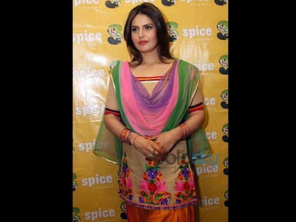 Zarine Khan In Punjabi...