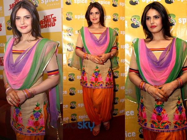 Beautiful Zarine Khan ...