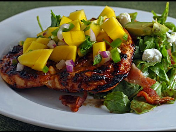 how to make mango salsa for chicken