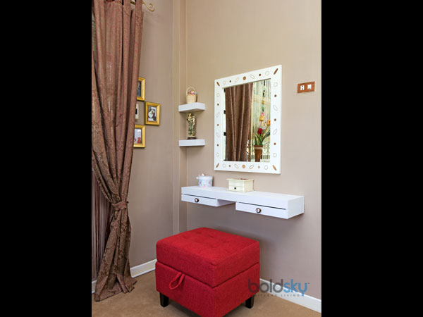 vanity table for small space. curtained mini dressing room vanity table for small space m