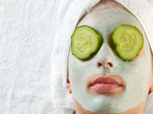 Cucumber Face Mask | Cucumber On Face | How To Apply Cucumber Mask