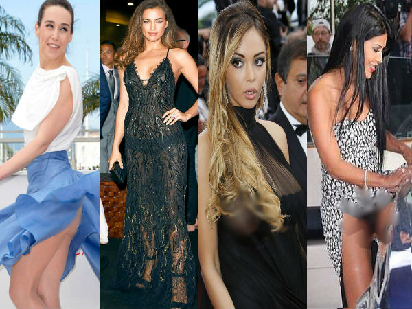 wardrobe malfunctions at cannes 2014 cannes film