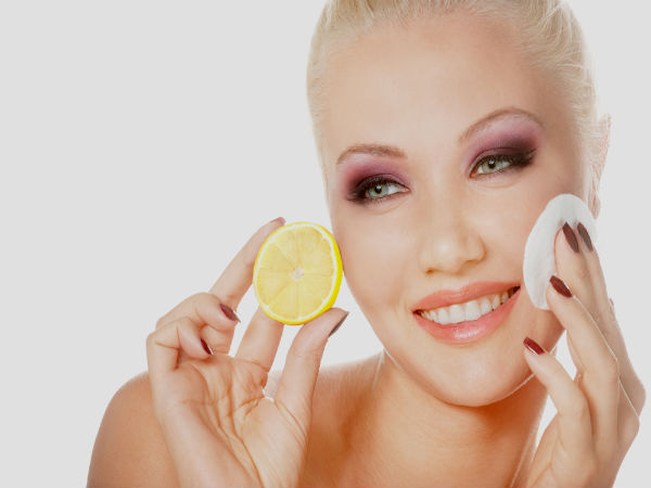 How to Wash Your Face With Lemons