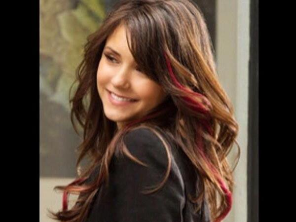 10 Bright Hair Streaks For Brunettes - Boldsky.com