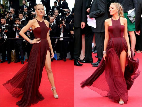 f0c72a39924 Blake Lively At Cannes 2014 In Gucci - Boldsky.com