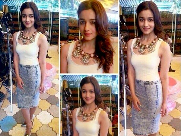 Alia Bhatt Shines In Zara Boldsky Com