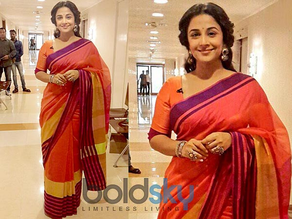 b7de295dcf8 Vidya Balan Stuns In Rahul Mishra Saree. Women Fashion