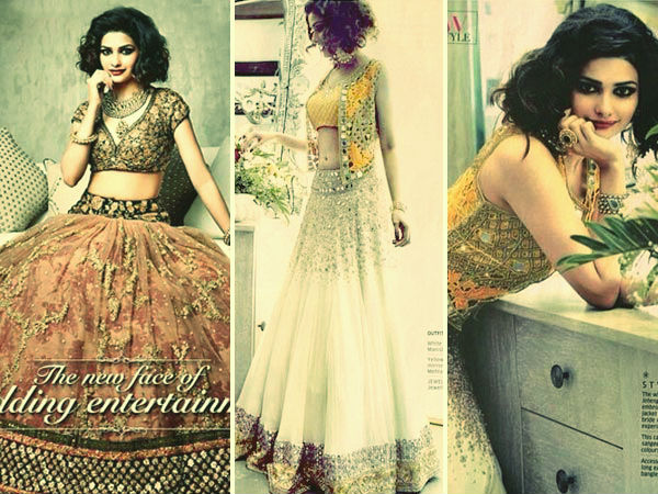 Prachi Desai On Wedding Times India Magazine Prachi