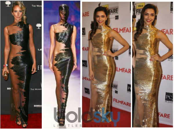 Filmfare Awards 2014: Deepika Padukone's Revealing Dress