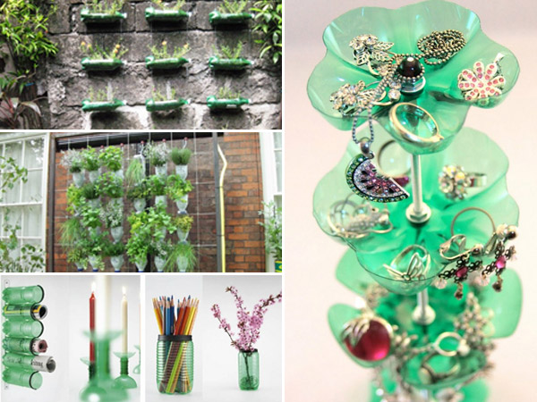 home decor tips using plastic bottles