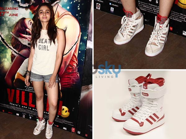 Alia Bhatt Adidas Shoes