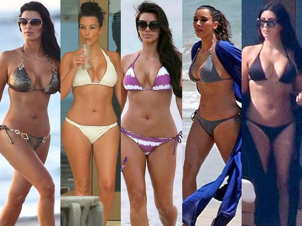 17 Best Bikini Looks Of Kim Kardashian