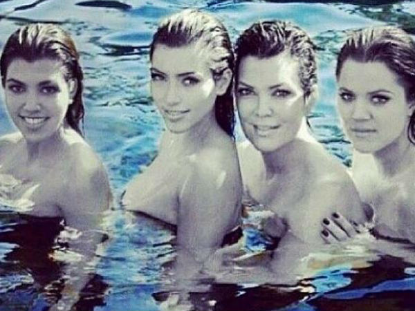 Are The Kardashian Sisters Topless?