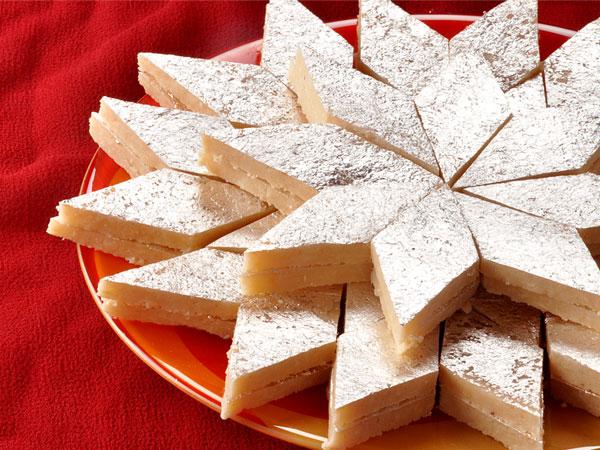 Coconut Burfi Recipe For Ganesh Chaturthi