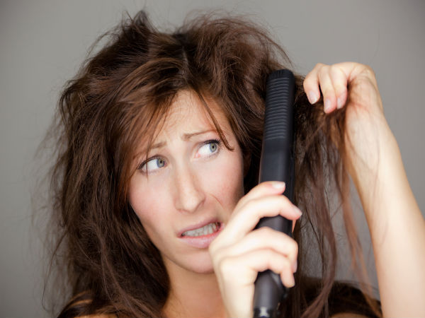 Top 5 Risks Of Hair Straightening Boldsky Com
