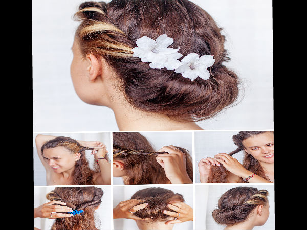 Stupendous Top 6 Hairstyles For Bridesmaids Boldsky Com Hairstyle Inspiration Daily Dogsangcom