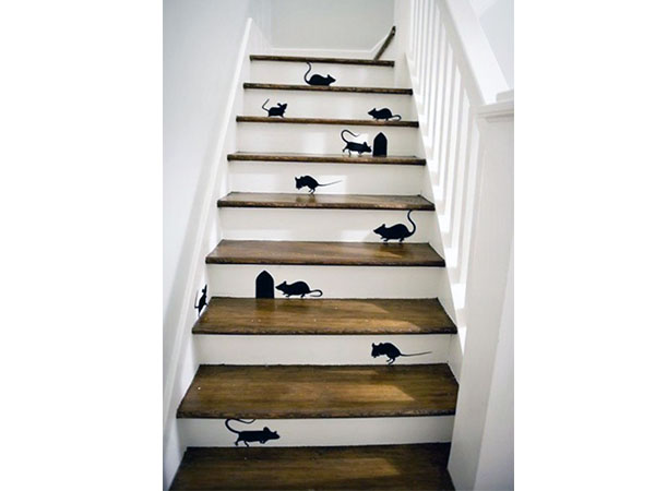 Colour Your Stairs Staircase Decor Decoration