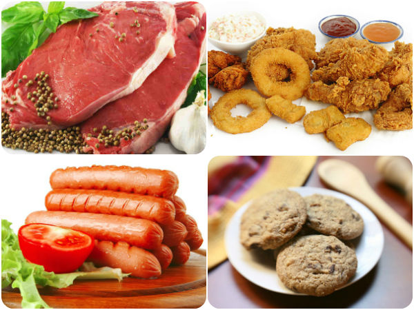 Foods that contain saturated fat