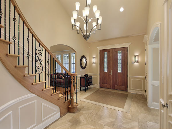 Large Tile Foyer : Top entrance foyer decor ideas boldsky