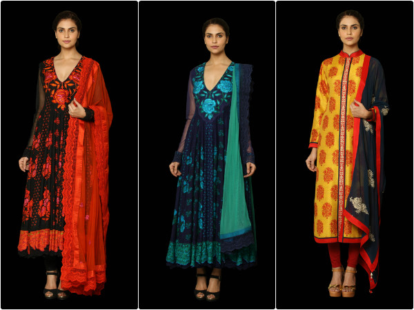Ritu Kumars Classic Suit Collection For Fall Winter Boldsky