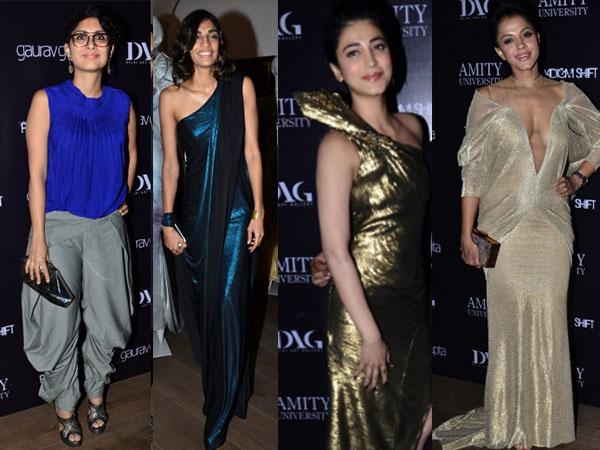 Celebrities In Handcrafted Gaurav Gupta Gowns - Boldsky.com