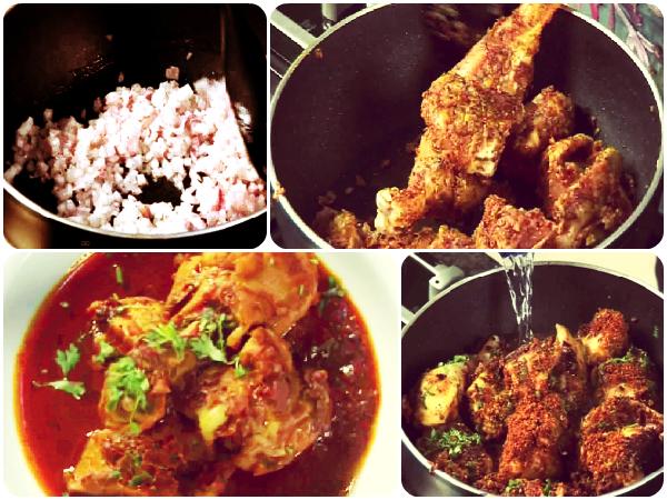 kolhapuri chicken masala recipe in marathi