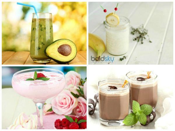 Five Healthy Milkshakes For Breakfast