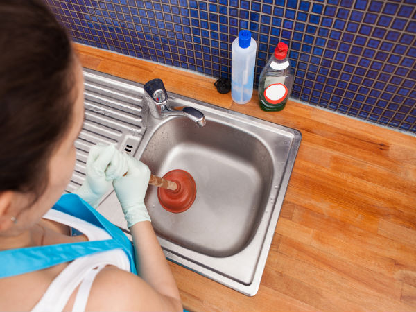 Unclog Kitchen Sink Naturally