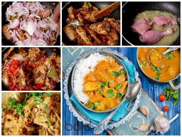 Hyderabadi Achari Murgh Step By Recipe