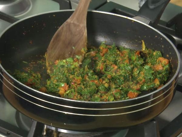 Aloo Methi Recipe | Potatoes with Fenugreek Leaves ...