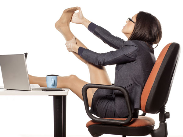 How To Burn Calories Sitting At Your Desk