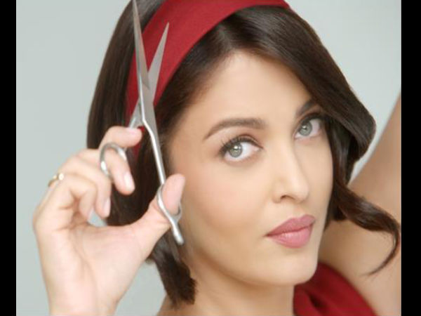 Aishwarya Rai New Bob Hairstyle For Commercial