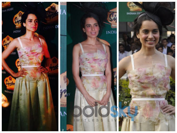 Kangana Ranaut At Derby Race | Signature Derby race | Kangana In Dolce and Gabbana