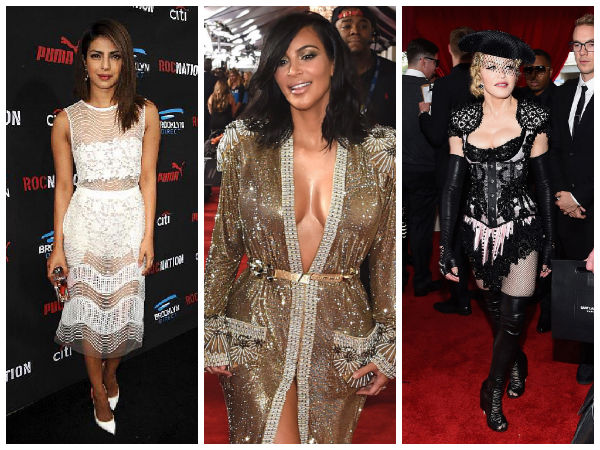 half nude dresses at the grammy awards 2015