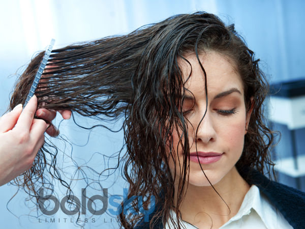 how to make greasy hair look clean without washing it