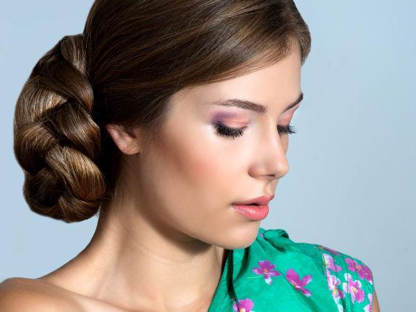 Super Cute Ways Style Wet Hair Work Boldsky