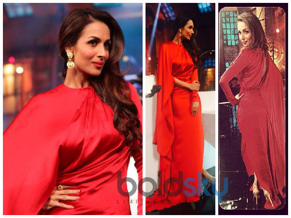 Lady In Red: Malaika Arora Khan On India's Got Talent