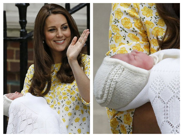 Kate Middleton daughter