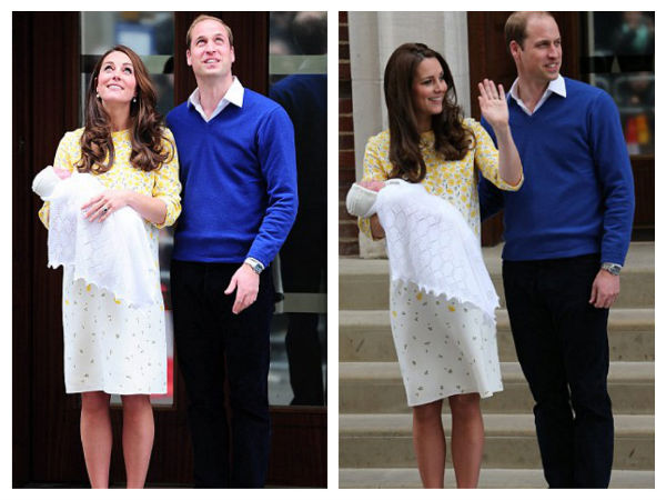 Kate Middleton In Jenny Packham Dress