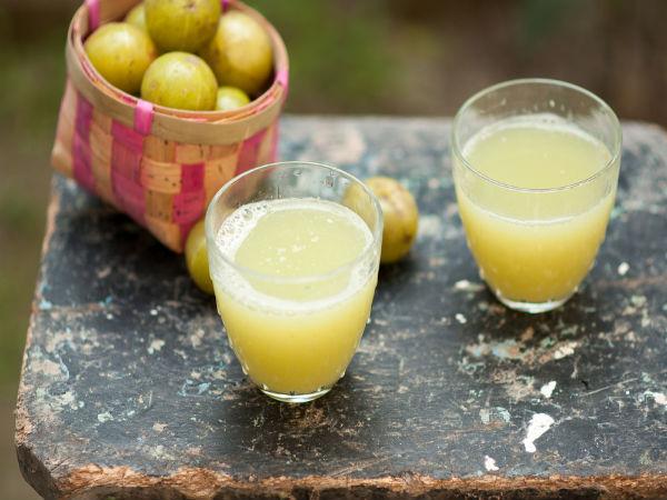 Different Amla Juice Recipes