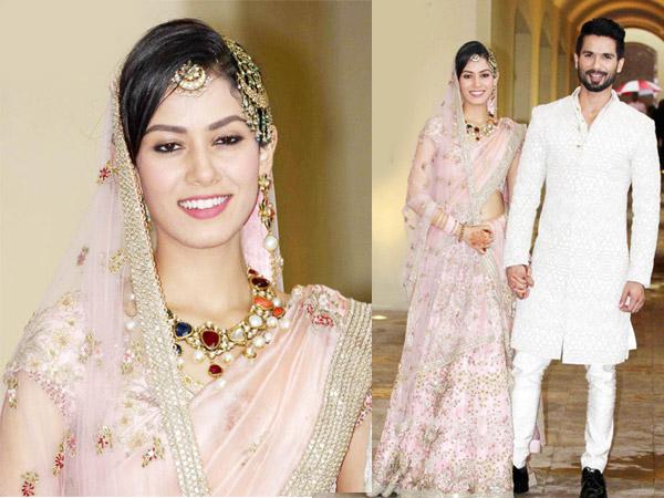 Shahid Kapoor & Mira Rajput's Wedding Pics