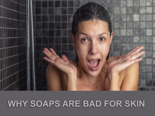 Soap, skin cleaning, harms