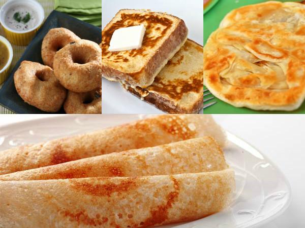 10 Unhealthy Indian Breakfasts To Avoid - Boldsky.com