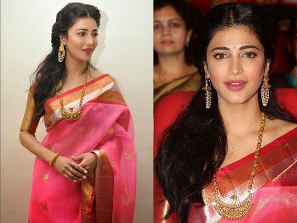 10 South Indian Actresses In Saree Boldsky Com
