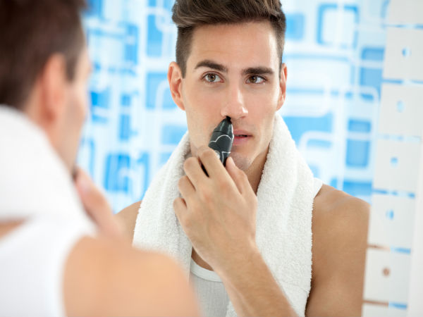 Seven Ways For Men To Trim Nose Hair 081099