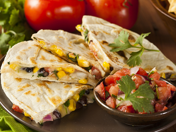 how to make mexican cheese quesadillas