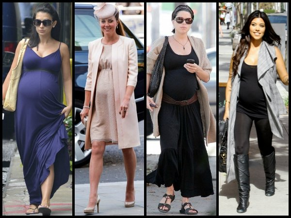 Celebrity pregnancy style blog