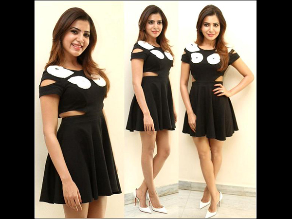 Samantha's Hottest Looks In Dresses