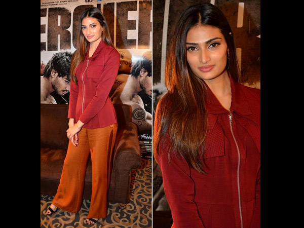Newbie Athiya Shetty Is The Bollywood's Fashionista